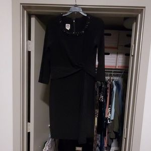 Anne Klein black gorgeous black dress.